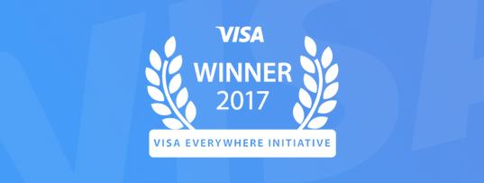 "Visa""创无限""创新挑战赛大奖"